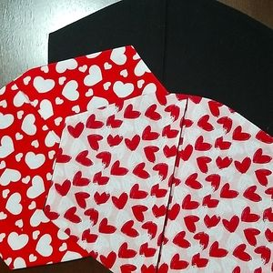 Hearts 2 Pack Facemask Set